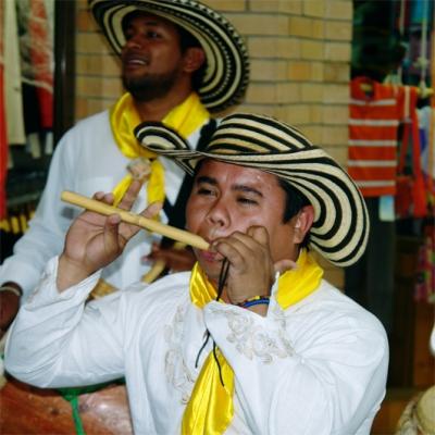 Show carnaval de Barranquilla - Grupo de gaitas y tambores Bogotá